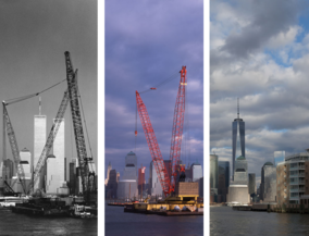 New York before and after - NewYork, from Hoboken