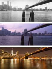 New York before and after - from Brooklyn