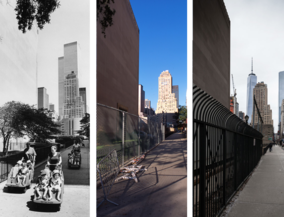 New York before and after - Downtown
