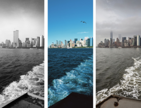 New York before and after - Staten Island Faere
