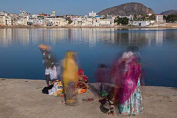 18 indien in bewegung pushkar